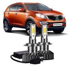Fits Hyundai Santa Fe MK2 100w Clear Xenon HID Low Dip Beam Headlight Bulbs Pair