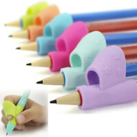 3PCS Set Children Pencil Holder Pen Writing Aid Grip Posture Correction Tool Lot