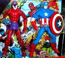 Marvel Universe CAPTAIN AMERICA & KLAW Secret Wars Comic Book #1 Action Figures