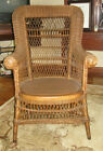 Heywood Wakefield Antique Wicker Armchair
