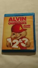 Alvin and the Chipmunks 1, 2  3 (Blu-ray Disc, 2014, 3-Disc Set)
