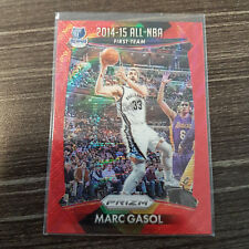2015-16 Panini Prizm RUBY WAVE PRIZMS #379 Marc Gasol ALL-NBA #/350