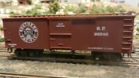 Roundhouse MDC HO Old Time 36' Boxcar,  Southern Pacific, Upgraded, Exc