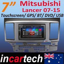 7 Inch Mitsubishi Lancer 07-15 GPS Navigation DVD Bluetooth USB Radio Stereo AU