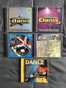 Lot CD de Dance des années 90 / 2000