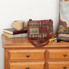 VHC Rustic Crossbody Gatlinburg Essentials Handbags Red Cotton Patchwork