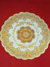 Tea pot set dining mat decoration placemat Gold Flower lace table cloths elegant