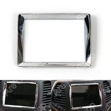 Interior Dashboard Navigation Frame Cover Trim For Jeep Grand Cherokee 2011-2016