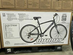 Infinity Boss Three Men's Hybrid/City Bike New In box! Shimanno Materials