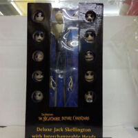 Nightmare Before Christmas Jack Skellington w Head 15'' Deluxe Action Figure Toy