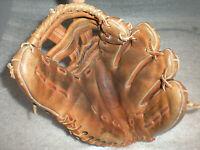"Vintage McGraw SB-GB Special 493 12"" Baseball Glove Mitt Rawhide Lace"