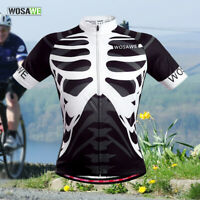 Men's Pro Cycling Jersey MTB Team Bike Riding Quick Dry Vest Short Sleeve Tops