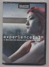 NEUF DVD EXPERIENCE (S) 02 LE MEILLEUR DES NOUVELLES IMAGES NEMO COURTS METRAGES