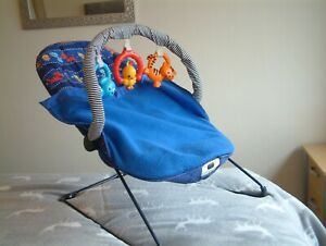 Fisher-Price - Rocker / Bouncer / Chair / Bed , Play space. Music and Vibrations