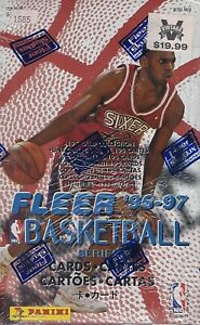 1996-97 FLEER SERIES 2 NBA BASKETBALL RETAIL BOX FACTORY SEALED