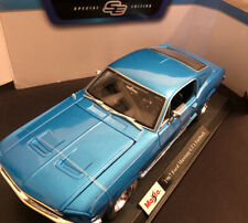 Maisto 1:18 Scale - 1967 Ford Mustang Fastback GTA - Diecast Toy Model Car