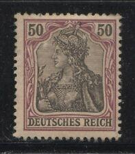 1902 Germany 50 Pfennig Germania  issue  mint*, € 90.00