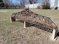 """M1910' Bridge KIT  2 tracks N gauge,""""Make & Offer"""" @ $300.00 + S&H  SALE!"""