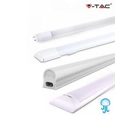 LAMPADE LED V-Tac Tubo G13 T8 T5 Plafoniere 30 60 90 120 150 cm Interno/Esterno