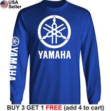 Yamaha Factory Racing T-Shirt Motorcycle Men 80 85 125 250 450 R1 R6 FZR YZ Team