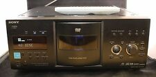 Sony DVP-CX995V 400 DISC Explorer DVD CD SACD Jukebox Player HDMI Changer REMOTE