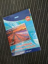 Stylex Aquarellblock Din A4 24 Blatt 185g/m²  28690 Malen Aquarell Papier A4