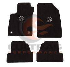 2013-2019 Buick Encore GM Front & Rear Carpet Floor Mats Buick Logo 42533126