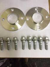 Peugeot Citroen Hubcentric 4 hole 15mm wheel spacers & OE Flat Seat Bolts 4x108