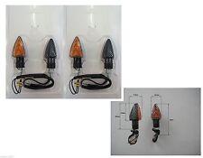 4 FRECCE LAMPADA CARBON CORTE OMOLOGATE per KAWASAKI Ninja 600 ZX-6R