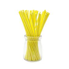 100 Pcs/Set Colorful Lollipop Sticks Cake Pop Sticks for Candy Chocolate 10cm TB
