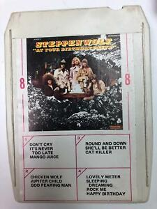 STEPPENWOLF At Your Birthday Party DHM85053  8 Track Tape