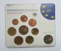 Germany Deutschland Euro 9 Coin Set 2013 G Karlsruhe UNC FDC 2 Euro X2 Baden