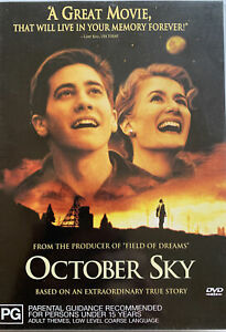 DVD: October Sky - Extraordary true Story that'll live in your memory forever