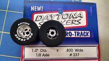 Pro Track #237 Daytona stockers 1.0 x .800 rear Tires 1/8 axle Mid America