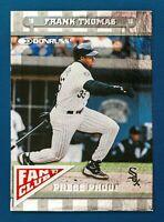 Frank Thomas #157 (1997 Donruss) Fan Club Press Proof 1 of 1500, White Sox, HOF