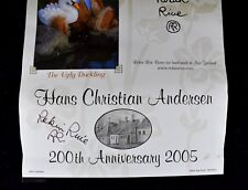 SIGNED ROBIN RIVE HANS CHRISTIAN ANDERSON CALENDAR 2005