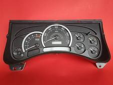 2003 2004 2005 HUMMER - HUMMER H2 SPEEDOMETER CLUSTER BLACK FACE WITH 0 MILES