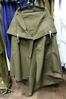 Cloak tent russian soviet ussr army soldier military poncho hooded raincoat