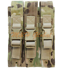MOLLE Triple MP5 Magazine Pouch .22 or 9mm Mag Ammo Pouch - Mulitcam