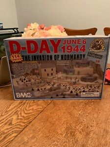 BMC D-Day Toy Soldier Playset Invasion of Normandy New in Mint Box