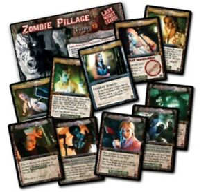 Last Night On Earth ZOMBIE PILLAGE Game Supplement Flying Frog Productions NEW!!