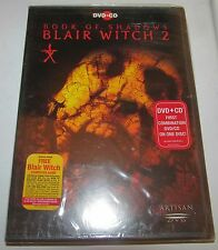 Book of Shadows: Blair Witch 2 DVD, 2001, DVD-Video and CD Soundtrack New Sealed