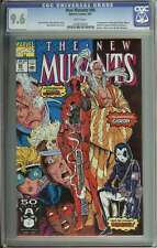 NEW MUTANTS #98 CGC 9.6 WHITE PAGES