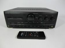 Kenwood Stereo Integrated Amplifier A-45 TESTED Amp Deck Separate Remote RC-45E