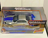 Jada Toys Fast and Furious Brian's Nissan GT-R 2.4 GHz R/C Car/Toy NIP