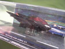 COLLECTION BATMAN EAGLEMOSS NUMERO 15 BATMAN&ROBIN 2009 VOITURE DE BATMAN COMICS