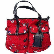 Paul Smith sac imprimé boutons polka dots. pois broches grand bag