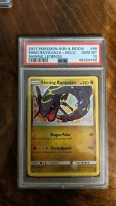 Pokemon PSA 10 Shining Legends Shining Rayquaza 56/73 Rare Holo GEM MINT