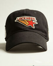 Red Canoe Lockheed Logo BallCap Cap Hat Black