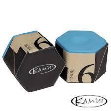 Kamui Roku 6 Chalk Blue Pool Cue Chalk Performance Chalk FREE Shipping